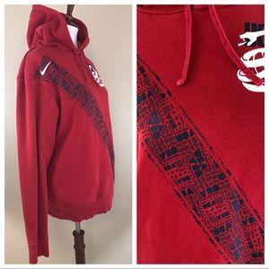 Nike Tops - NIKE USA WORLD CUP SOCCER SNAKE RED SWEATSHIRT